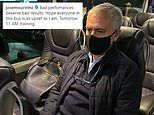 Jose Mourinho hits out at Tottenham flops in defeat at Antwerp through Instagram