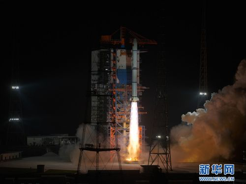 China launches three military spy satellites