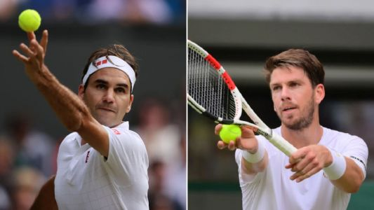 Cam Norrie's coach reveals plan to beat Roger Federer at Wimbledon