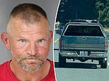 Arrested California man 'stole truck' and 'crashed into 26 cars'