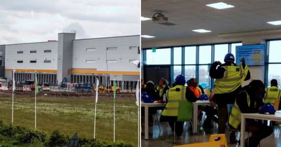 Five Amazon workers fall ill after complaints over lack of social distancing