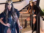 Teresa Giudice channels Game of Thrones in her revealing Halloween costume