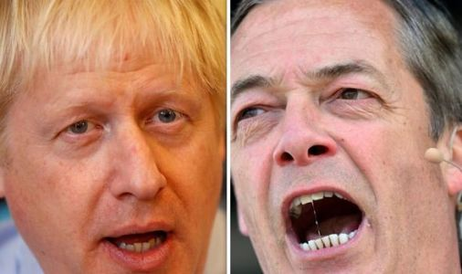 Brexit betrayal: Nigel Farage superbly savages PM Boris Johnson for EU exit 'stitch-up'
