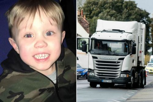 Lorry driver hit and killed boy, 3, while 'swearing at another motorist'