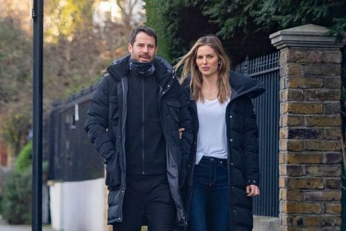 Jamie Redknapp puts on loved up display with girlfriend Frida Andersson-Lourie