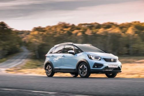 Honda Jazz Crosstar review - popular hatchback hits another high note