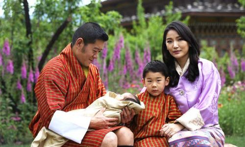 King Jigme and Queen Jetsun of Bhutan share first photos of newborn baby boy