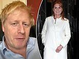 Sarah Ferguson thanks Boris Johnson for his 'strength' and wishes him a swift recovery