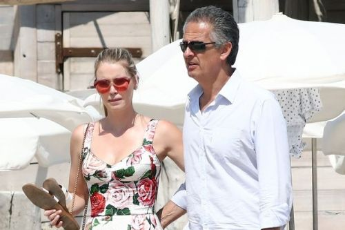 Diana's niece Lady Kitty Spencer, 30, marries billionaire Michael Lewis, 62