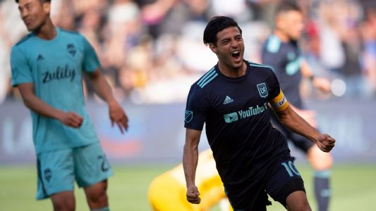 Carlos Vela double sees LAFC thrash Seattle to pad Western Conference lead