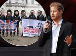 Duke of Sussex make surprise call to congratulate members of the Grenadier Walk of Oman