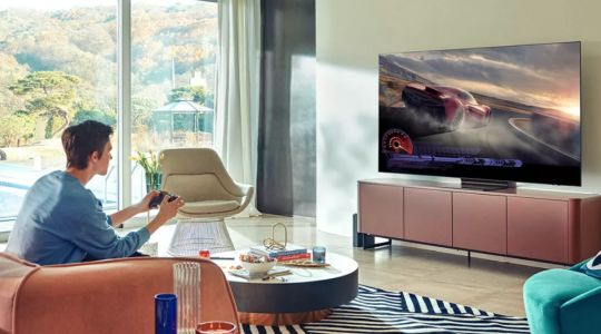 Samsung's stretchable display shows off a new kind of 3D TV