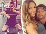 Michael Clarke hits the gym for a sweat session amid split with wife Kyly Clarke