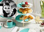 Breakfast at Tiffany's! 'Blue box' pop up opens in Harrods