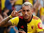 Watford 2-2 Arsenal: Gunners throw away two-goal advantage as Roberto Pereyra salvages a point