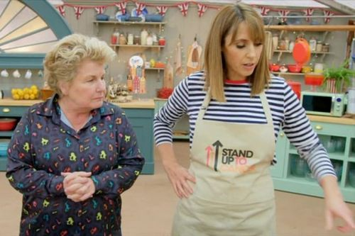 Bake Off fans horrified by Alex Jones' naked fondant lady with 'giant vagina'