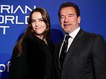 Arnold Schwarzenegger and daughterChristina attendcharity dinner climate auction inAustria
