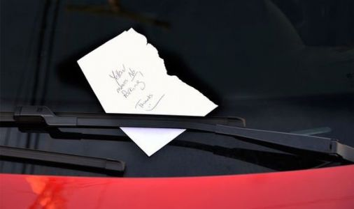 Elderly targeted with ABUSIVE messages left on cars in Hull - 'Inconsiderate a***wipes!'