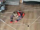 Spider-man 'web' obstacle course keeps mum's four-year-old entertained during coronavirus lockdown