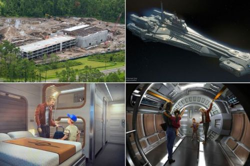Disney shares first look at new Star Wars themed hotel in Walt Disney World