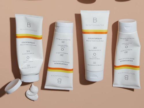 This reef-safe mineral sunscreen protects your skin from UVA, UVB, and blue light damage, and it doesn't leave a white cast behind on my skin