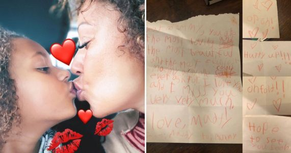 Mel B posts heartbreaking note from daughter Madison as she accuses her 'abuser' of keeping them apart
