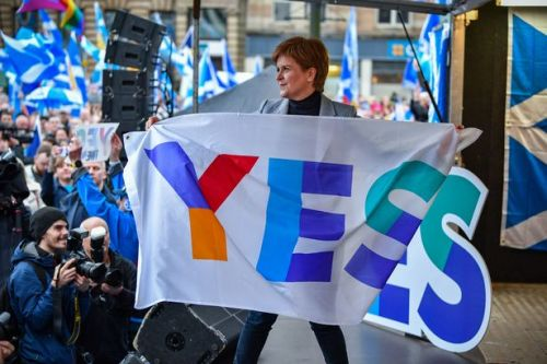 Support for Scottish independence rockets on back of Nicola Sturgeon popularity