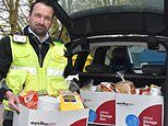 Traffic wardens in Kent deliver food parcels instead of parking tickets during coronavirus lockdown