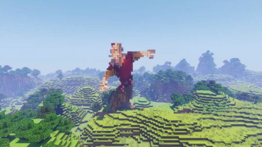 Here's Avatar: The Last Airbender's intro in Minecraft in jaw-dropping stop motion