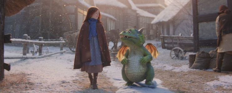Who plays Ava in the John Lewis Christmas advert and how old is the actress?
