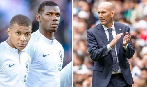 Zinedine Zidane wants Kylian Mbappe and Paul Pogba but Real Madrid must do one thing first