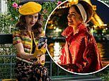 Lily Collins shows off her French fashions in 'first look' at season two of Netflix's Emily in Paris