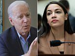 Biden calls AOC 'bright' and 'wonderful' but says the party's not with her