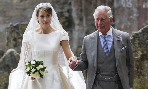 This isn't the first time Prince Charles has walked a bride down the aisle
