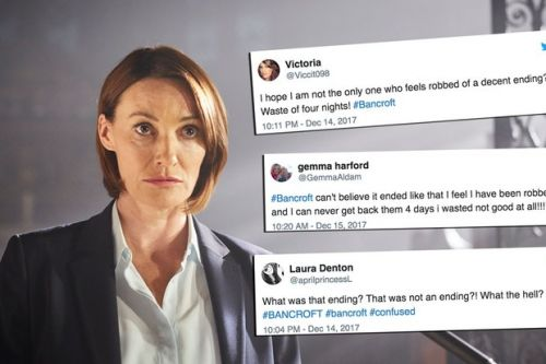 """""""Is that it?"""": Viewers left fuming after Bancroft ending"""