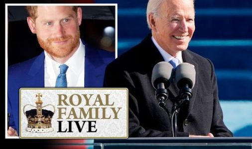 Royal Family LIVE: Prince Harry 'spotted' next to friend Joe Biden on his Inauguration Day