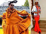The category is.gender-less style realness! Billy Porter is the breakout star of fashion month