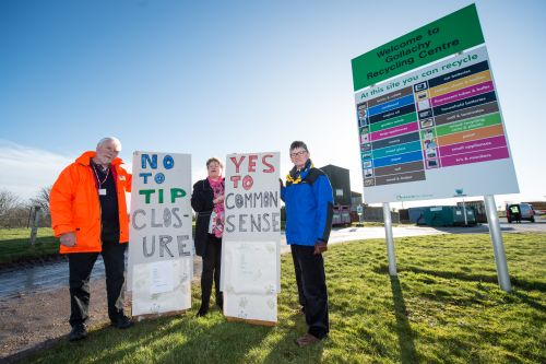 More than 2,500 people sign petition to save Buckie dump as protest is held