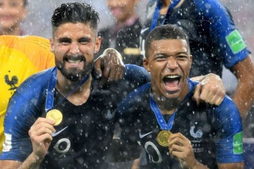 Olivier Giroud aims final dig at England as he claims France can begin football revolution following World Cup win