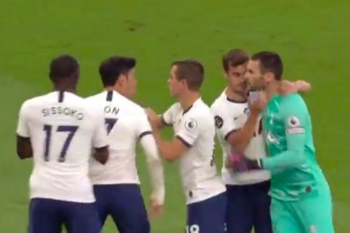 Hugo Lloris details how Son Heung-min 'annoyed' him leading to Tottenham bust-up