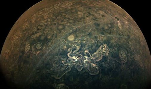 NASA news: Juno spacecraft's picture of Jupiter looks like a beautiful watercolour