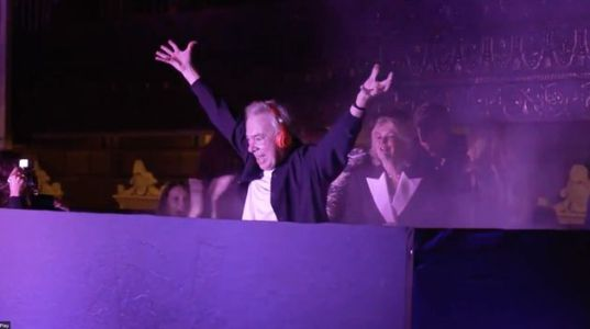 This Video Of Andrew Lloyd Webber's First-Ever DJ Set Is An Unexpected Joy