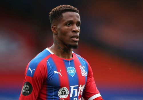 Wilfried Zaha reveals racist messages from Aston Villa fan before Crystal Palace game