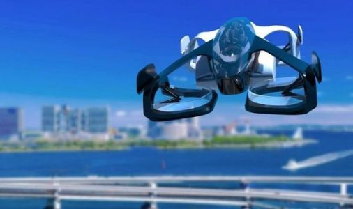 Eyes on the skies: Japan to launch flying cars in THREE YEARS