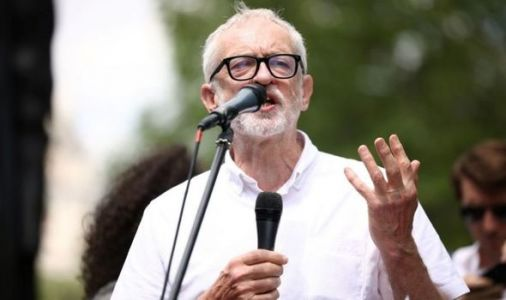 Jeremy Corbyn attends pro-Palestine protest outside No10 - even though Boris isn't there