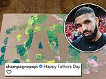 Drake shares artwork by son Adonis as he celebrates first Father's Day since