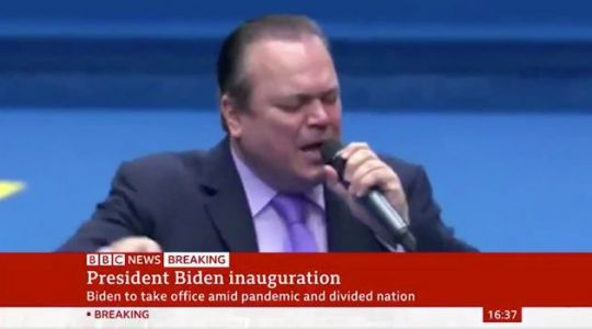 Someone Mashed Up Joe Biden's Inauguration With Footage Of Barry From EastEnders Singing, And Honestly, We're Howling