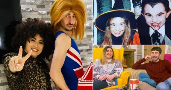 Gogglebox stars Pete and Sophie share 'embarrassing' throwback snaps