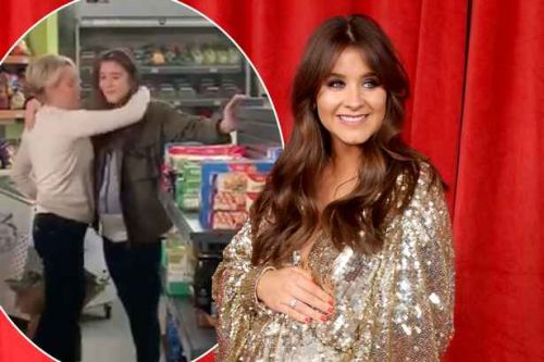 Brooke Vincent says emotional goodbye to Coronation Street after 15 years as she prepares to welcome first child