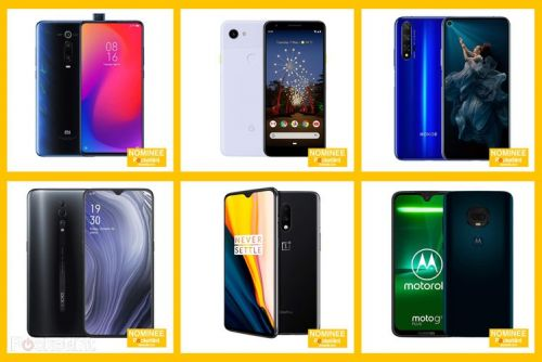 Here are the EE Pocket-lint Awards nominees for Best Phone 2019 and how to vote